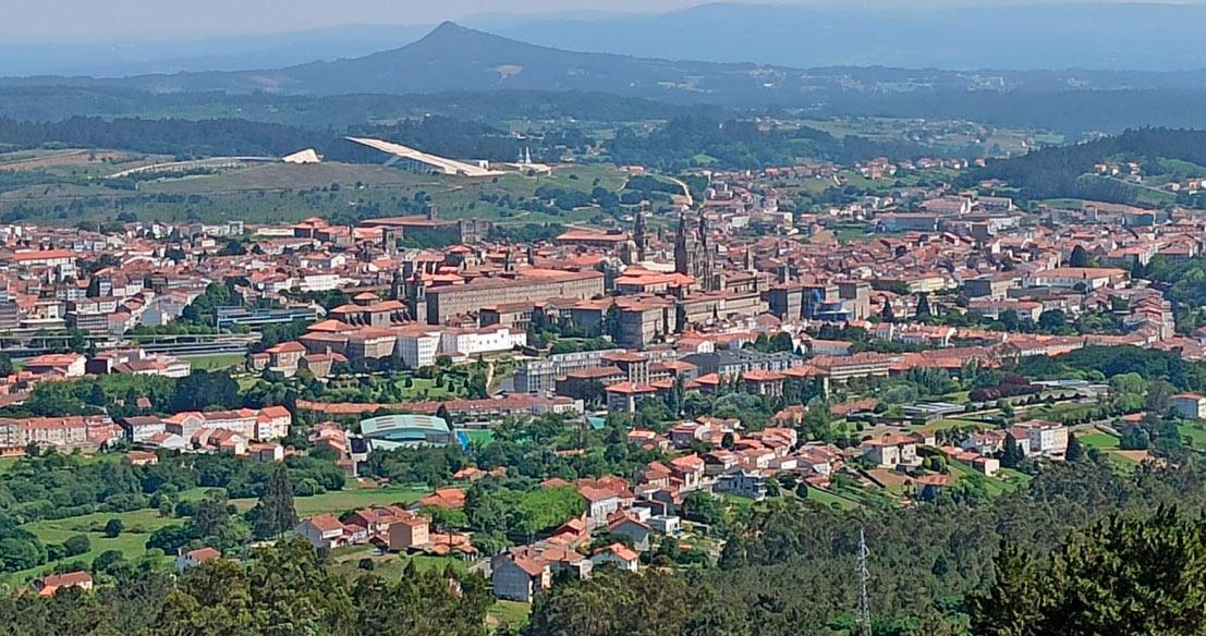 Paisaxe Santiago de Compostela